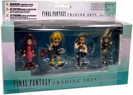 Final Fantasy Trading Arts Vol. 3 Mini PVC Figure 4-Pack Aerith Gainsborough, Tidus, Bathier & Fran