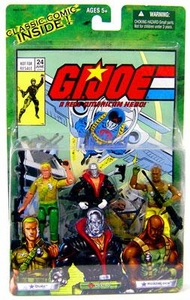 GI Joe Hasbro Valor Vs. Venom 3 3/4 Inch Action Figure 3-Pack Duke, Destro & Roadblock