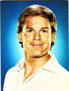 Dexter Trading Cards Chase Card Dexter Portraits DT3 Blood Spatter