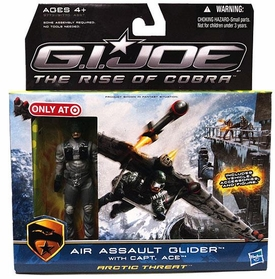 GI Joe Movie The Rise of Cobra Exclusive Air Assault Glider With Capt. Ace