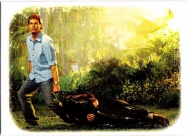 Dexter Trading Cards Chase Foil Card Dexter Dream Scenes DS1 Not A Drag To Dexter