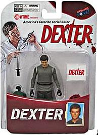 Bif Bang Pow! Dexter 3.75 Inch Action Figure Dexter Morgan [Includes Garbage Bag & Exclusive Blood Slide!] Only 7,000 Made!