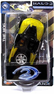 Halo 2 Action Figure Series 1 Ultra-Rare Chase Figure Civilian Hog [Chrome Rims]
