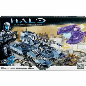 Halo Wars Mega Bloks Exclusive Set #96853 Covenant Invasion
