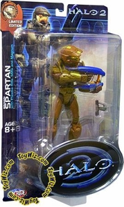 Halo 2 Exclusive Action Figure Brown Spartan