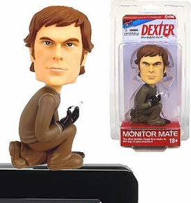 Bif Bang Pow! Dexter Monitor Mate Mini Bobble Head Dexter