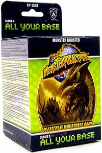 Monsterpocalypse Collectible Miniature Game All Your Base Series 3 Unit Booster Pack