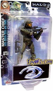 Halo 2 Action Figures Exclusive Battle Damaged Master Chief