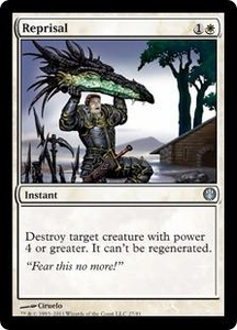 Magic: The Gathering Duel Decks: Knights vs. Dragons Single Card White Uncommon #27 Reprisal