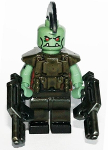 Brick Mercenaries Premium Custom Painted Minifigure Post Apoc Orc 2