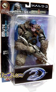 Halo 2 Action Figure Limited Edition Exclusive Brute