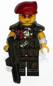 Brick Mercenaries Premium Custom Painted Minifigure Colonial Marine 5 BLOWOUT SALE!