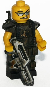 Brick Mercenaries Premium Custom Painted Minifigure Colonial Marine 6