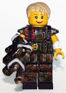 Brick Mercenaries Premium Custom Painted Minifigure Colonial Marine 7