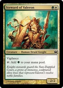 Magic: The Gathering Duel Decks: Knights vs. Dragons Single Card Multicolor Common #11 Steward of Valeron