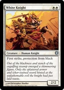 Magic: The Gathering Duel Decks: Knights vs. Dragons Single Card White Uncommon #9 White Knight
