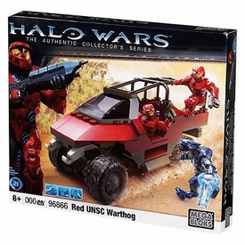 Halo Wars Mega Bloks Set #96866 Red UNSC Warthog