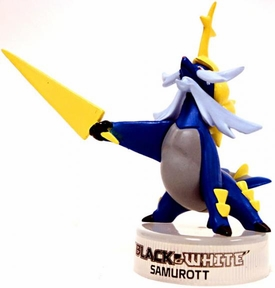 Pokemon Black & White 1.5 Inch Mini PVC Figure Samurott BLOWOUT SALE!