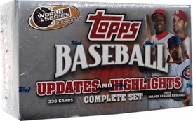 2005 Topps MLB Baseball Cards Box Updates & Highlights