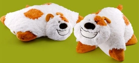 Animal Pillowz 18 Inch Deluxe Pet Plush Pillow Clover the Dog