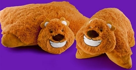 Animal Pillowz 18 Inch Deluxe Pet Plush Pillow Honey the Bear