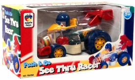Apple Toys Push & Go See Thru Racer