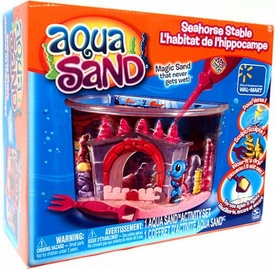 Aqua Sand Exclusive Playset Seahorse Stable