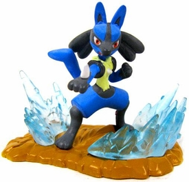 Pokemon Mini Figures Action Battlers Lucario