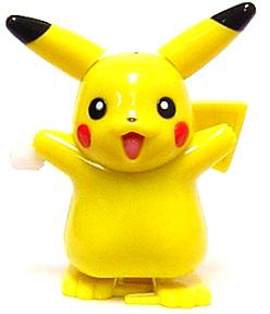 Pokemon Japanese 3 Inch Wind-Up Toy Pikachu