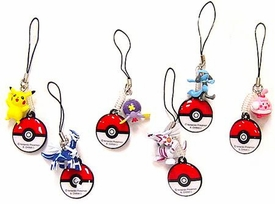 Pokemon DP Japanese PVC Set of 6 Handheld DS Screen-Cleaners
