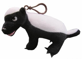 Honey Badger Mini Clip On Talking Plush [R Rated Version]