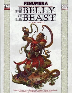 Penumbra: In the Belly of The Beast Softcover Role Playing Book [Used Condition: Fine Incomplete]