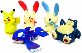 Pokemon PVC Set of 5 Windup Figures