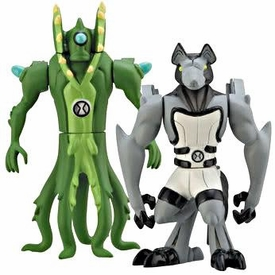 Ben 10 Alien Creation Chamber Mini Figure 2-Pack Wildvine & Benwolf