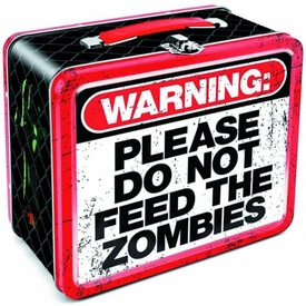 Zombie Warning Lunchbox Pre-Order ships July
