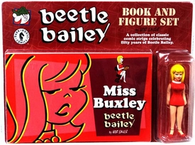 Beetle Bailey Book & Figure Set Miss Buxley