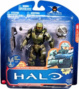 Halo McFarlane Toys 10th Anniversary Series 2 Action Figure Master Chief [The Package]