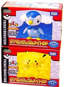 Pokemon Card Game Japanese PVC Set of 2 Boxed Pokemon Card Game [Pikachu, Piplup]