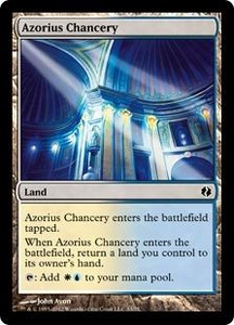 Magic the Gathering Duel Decks: Venser vs. Koth Single Card Land Common #33 Azorius Chancery