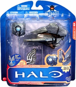 Halo McFarlane Toys 10th Anniversary Series 2 Action Figure 2-Pack Sentinel & Guilty Spark