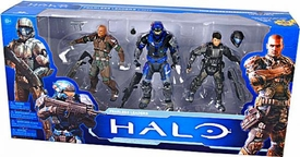 Halo McFarlane Toys 10th Anniversary Action Figure 3-Pack Fearless Leaders [Buck, Forge & Carter]