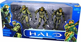 Halo McFarlane Toys 10th Anniversary Action Figure 3-Pack Master Chief Evolution [Halo, Halo 2 & Halo 3]