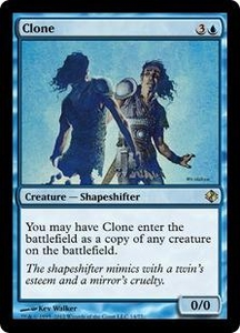 Magic the Gathering Duel Decks: Venser vs. Koth Single Card Blue Rare #14 Clone