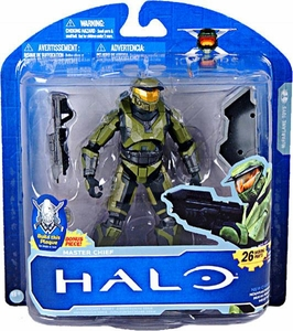 Halo McFarlane Toys 10th Anniversary Series 1 Action Figure GREEN Master Chief [Full Color]