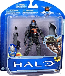 Halo McFarlane Toys 10th Anniversary Series 1 Action Figure Dutch [Halo 3: ODST]