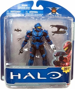 Halo McFarlane Toys 10th Anniversary Series 1 ADVANCE Exclusive Action Figure BLUE Spartan Recon [Blue Variant]