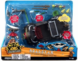 Codename Kids Next Door 'KND' ROADSTAR Vehicle with Numbuh One Figure