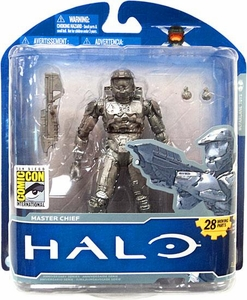 Halo McFarlane Toys 2011 SDCC San Diego Comic Con Exclusive Action Figure PLATINUM Master Chief