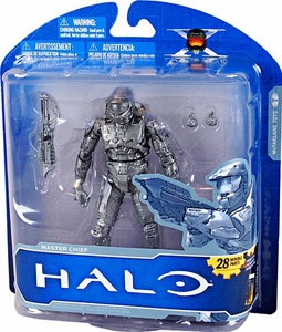 Halo McFarlane Toys 10th Anniversary Series 1 ADVANCE Exclusive Action Figure PLATINUM Master Chief