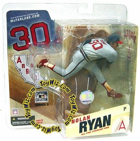 McFarlane Toys MLB Cooperstown Series 3 Action Figure Nolan Ryan (California Angels) Angels Uniform